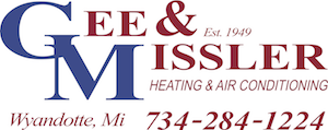 Gee & Missler Heating & Air Conditioning Logo